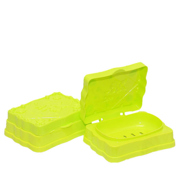 2-in-1 Soap Case - Lemon Green