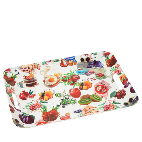 Serving Tray With Design