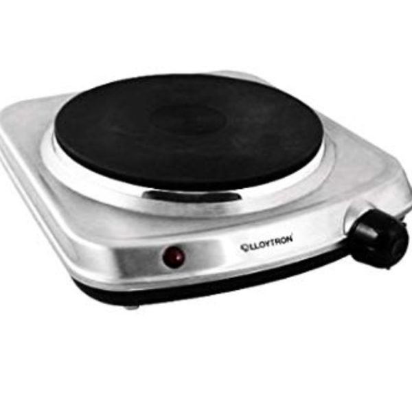 Lloytron 1500W Steel Table Top Hot Plate