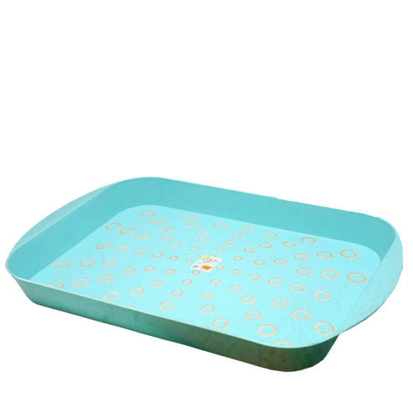 Plastic Serving Tray With Design