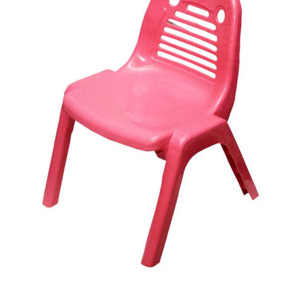 Kiddies Plastic Chairs - Pink
