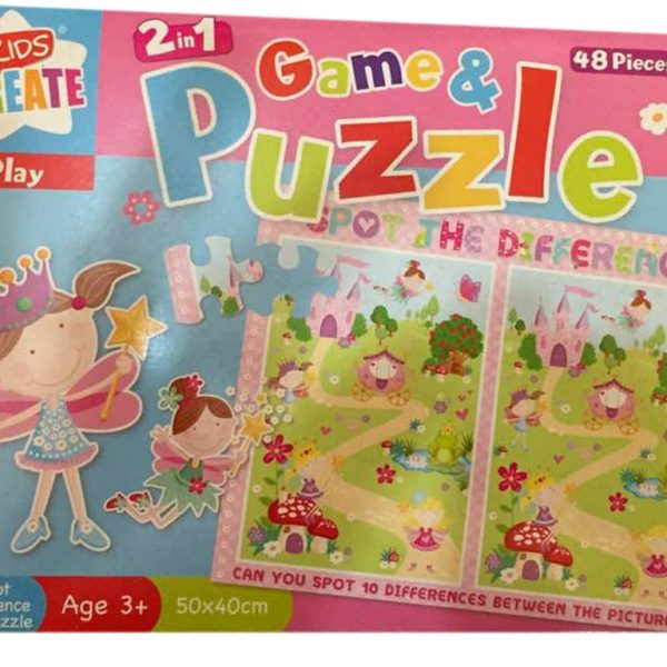 2-in-1 Game & Puzzle