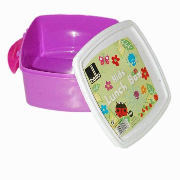 Kids Lunch Box - Purple