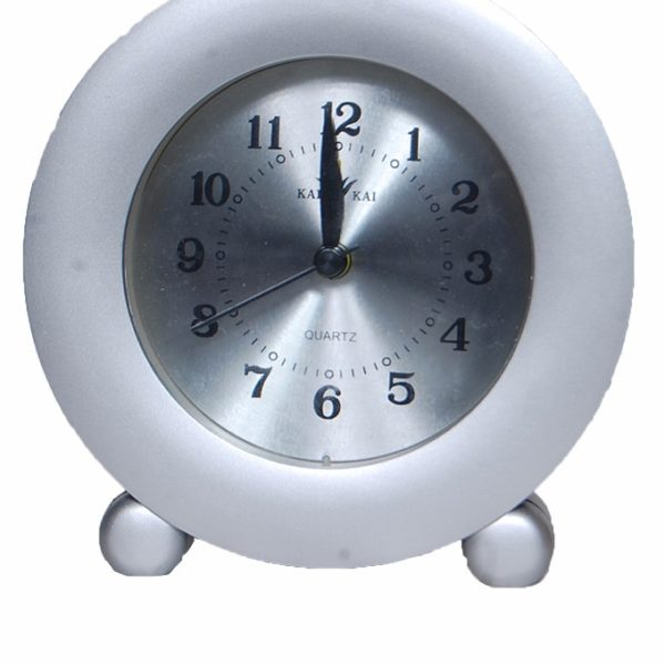 2304 Round Table Clock - White