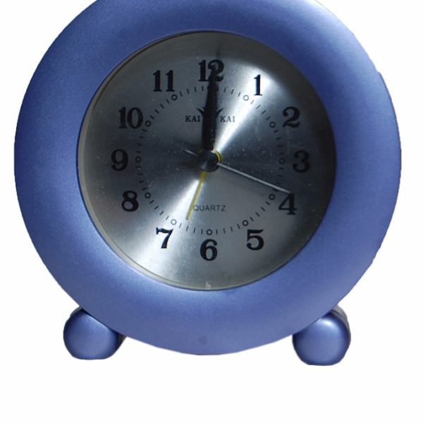 2304 Round Table Clock- Blue