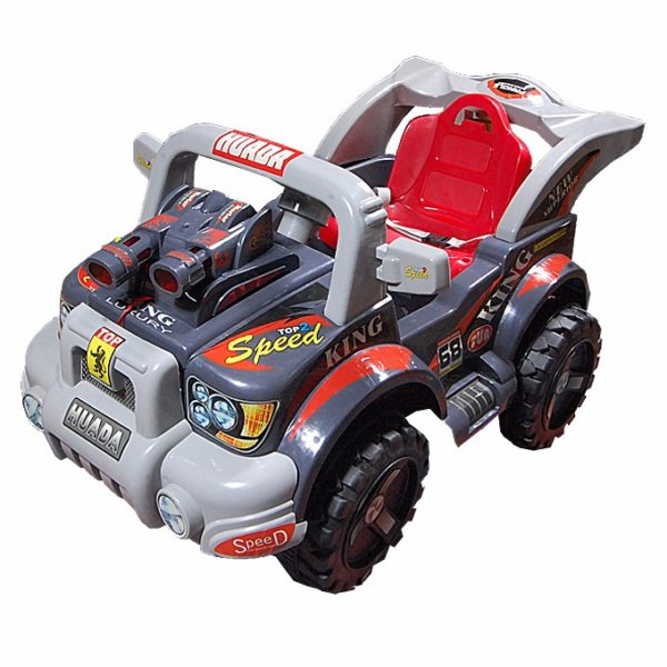 Big Combat Powerful Racer Car - Red detailed