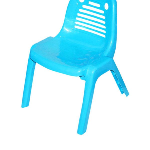 Kiddies Plastic Chairs - Blue