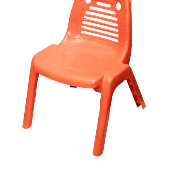 Kiddies Plastic Chairs - Orange