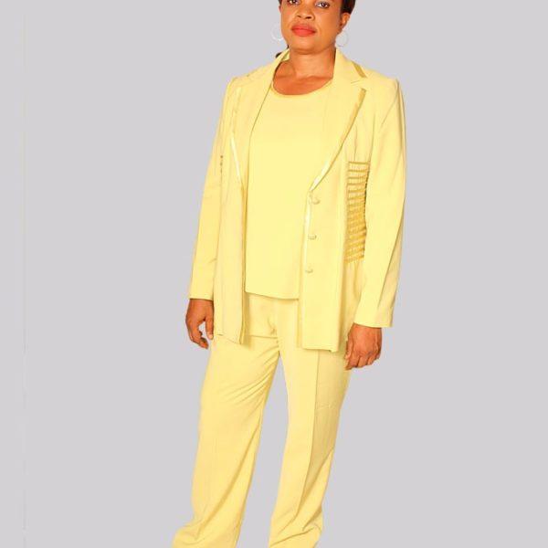 Millenium Trouser Suit With Inner Top